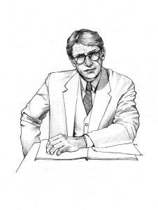 atticus_finch_To Kill a Mockingbird_story_novel_mixed media_watercolour_painting_pencil_drawing_book_illustration 2