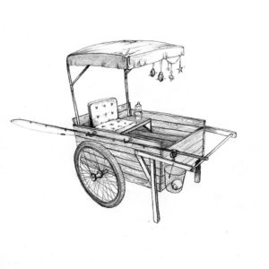 fishing_cart_story_mixed media_watercolour_painting_pencil_drawing_book_illustration 2