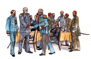 historical_political_governors_generals_mixed media_watercolour_painting_pencil_drawing_book_illustration 2