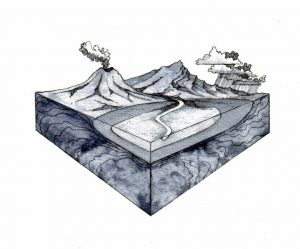 lanscape_watercycle_mixed media_watercolour_painting_pencil_drawing_book_illustration 2