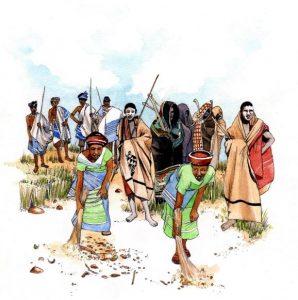 xhosa_traditional_ritual_sangoma_initiation_mixed media_watercolour_painting_pencil_drawing_book_illustration 2