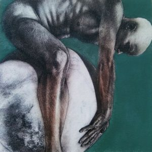 Block 20_mixed media_charcoal_drawing_acrylic_painting_male_nude_study_figurative