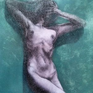 Block 28_mixed media_charcoal_drawing_acrylic_painting_female_nude_study_figurative