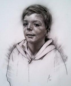 Sai_son_family_charcoal_portrait_drawing