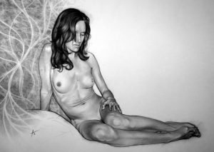 wife_family_boudoir_charcoal_portrait_drawing