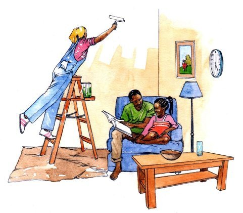 African family home improvements book 2