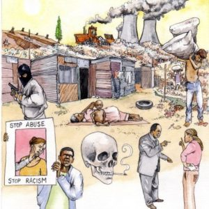 African township homes sanitation health poverty environmental pollution book 3