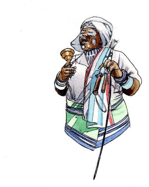 Sangoma traditional healer xhosa book 2