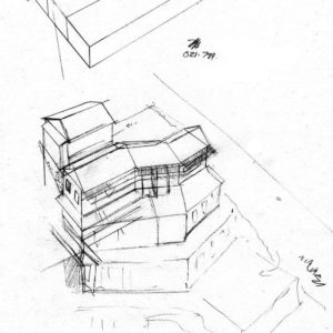 West 1 house renovation design layout perspective elevation graphite 2