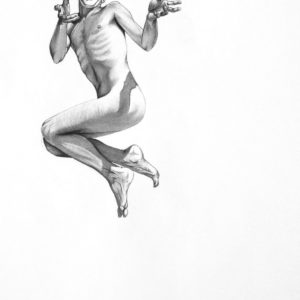 Eh 200 on male nude figure