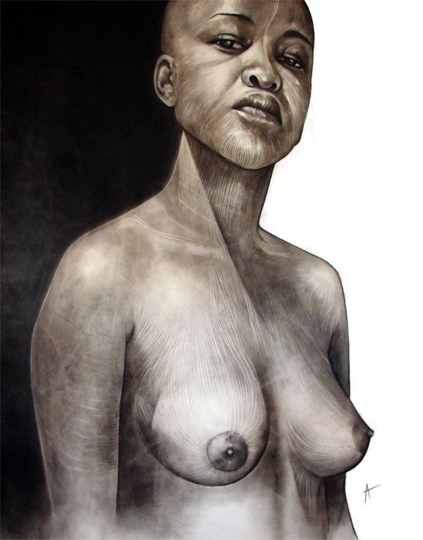 Tsvarakadenga 2007 on african female nude figure