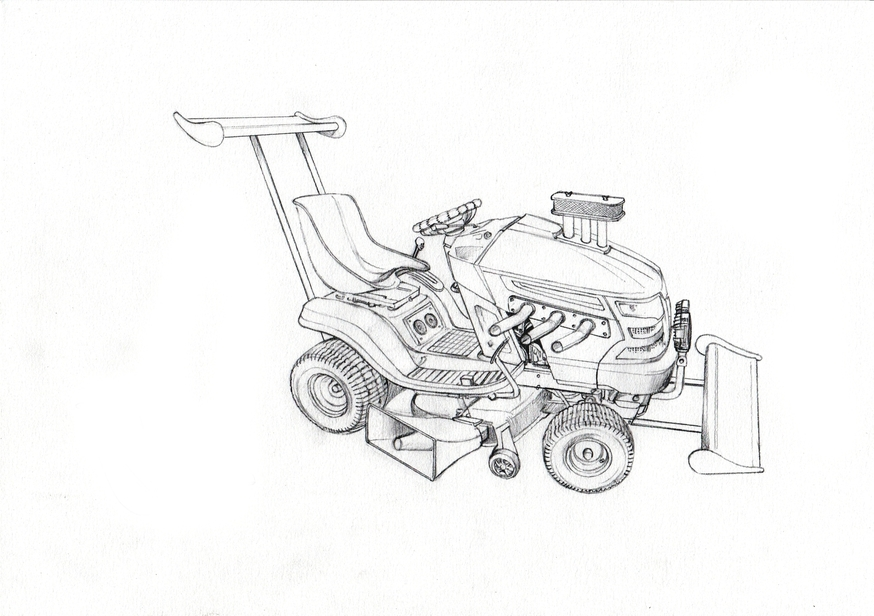 Garden Mower 1
