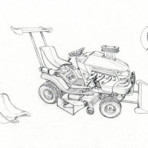 Garden Mower 2