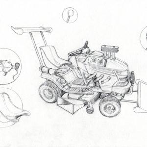 Garden Mower 3