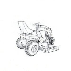 Garden mower concept 1