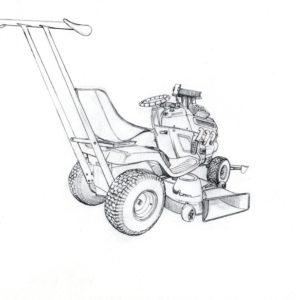 Garden mower concept 2