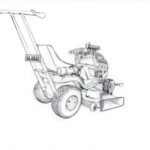 Garden mower concept 3
